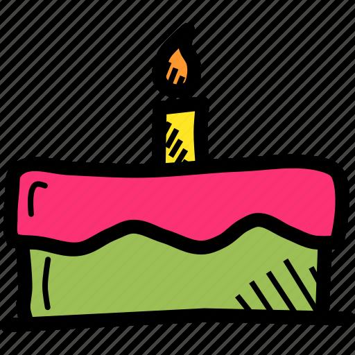 cake, celebrate, day, festival, patricks, saint, sweet icon