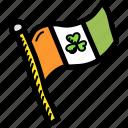 day, festival, flag, irish, patricks, saint, shamrock