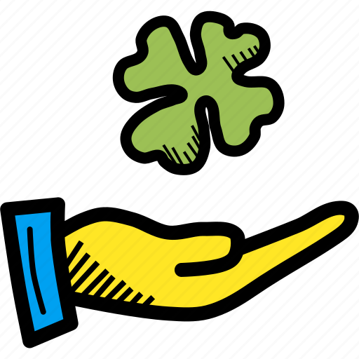 Clover, day, festival, four, patricks, saint, shamrock icon - Download on Iconfinder