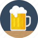 alcohol, bar, beer, beverage, drink, pint, stpatricksday icon