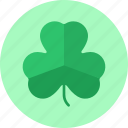 celtic, clover, leaf, patrick, shamrock, stpatricksday, three icon