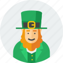hat, irish, leprechaun, patrick, saint, st patrick, stpatricksday icon
