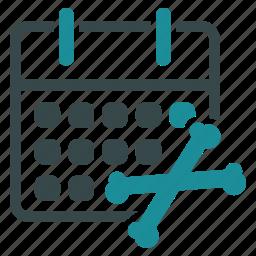 business, calendar, clock, deadline, meeting, schedule, time icon