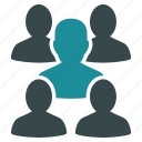 connection, consultation, family, forum, friends, group, people icon