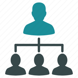 company, flow chart, hierarchy, order, organization, structure, system icon