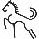 animal, horse, horse power, pony, stallion, stud icon