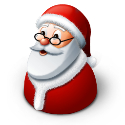 christmas, claus, father frost, santa, winter icon