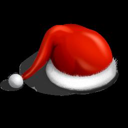 cap, christmas, claus, hat, santa icon