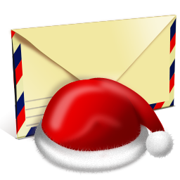 letter, mail, message, santa icon