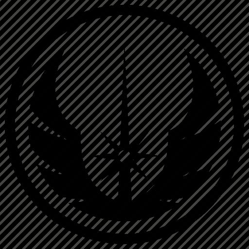 Death star, jedi order, sign, skywalker, starwars icon