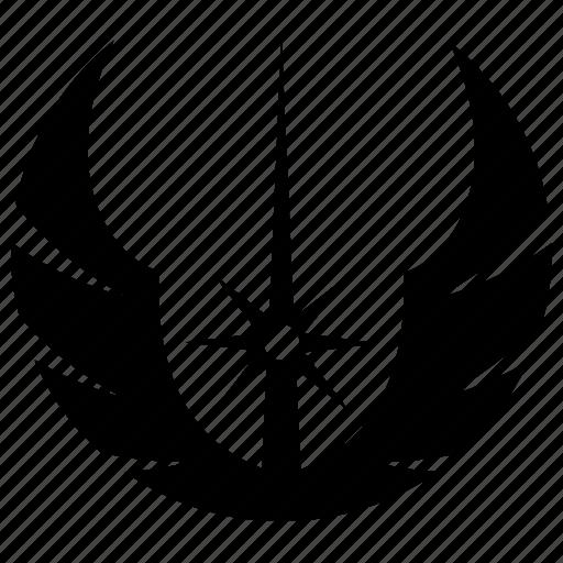 Death star, jedi order, sign, skywalker, starwars icon - Download on Iconfinder