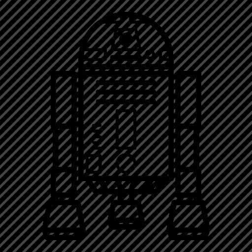 droid, r2-d2, r2d2, robot, star wars, starwars icon