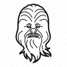 chewbacca, star wars, starwars icon