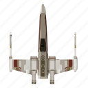 classic, ship, spacecraft, star, starwars, wars icon