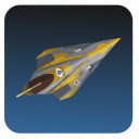 fly, ship, star, starwars, wars icon