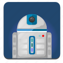 hero, r2d2, robot, star, starwars, wars icon