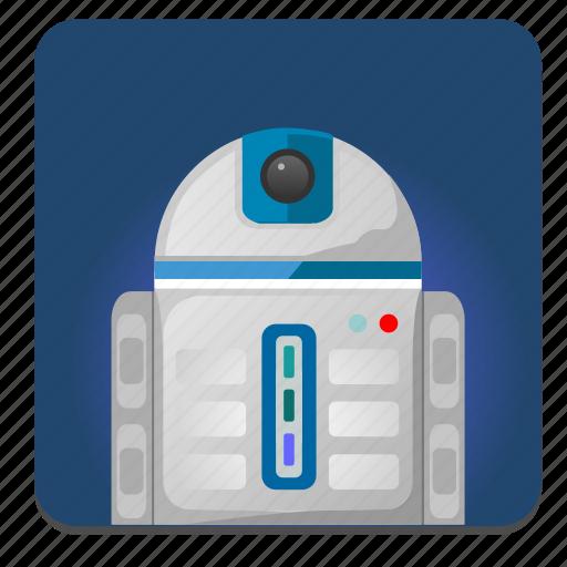 hero, r2d2, robot, star, starwars, wars icon