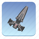 fly, ship, sky, star, starwars, wars icon