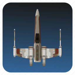 fly, ship, space, star, starwars, wars icon