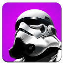 darkness, droid, head, soldier, star, starwars, wars icon
