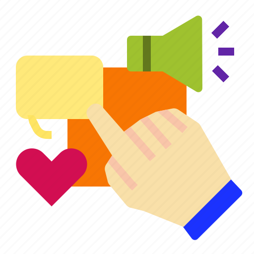 click, digitalmarketing, follow, heart, like icon