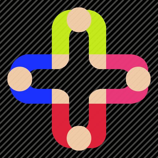 brainstom, help, hooray, meeting, teamwork icon