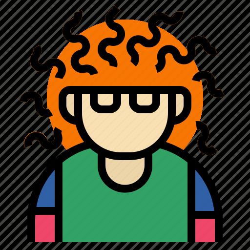 expert, geek, nerd, profession, wawee icon