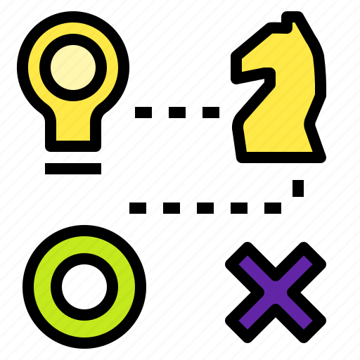 chess, plan, racer, strategy, thinking icon