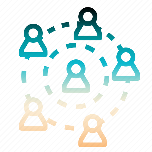 connection, link, operation, people, worker icon