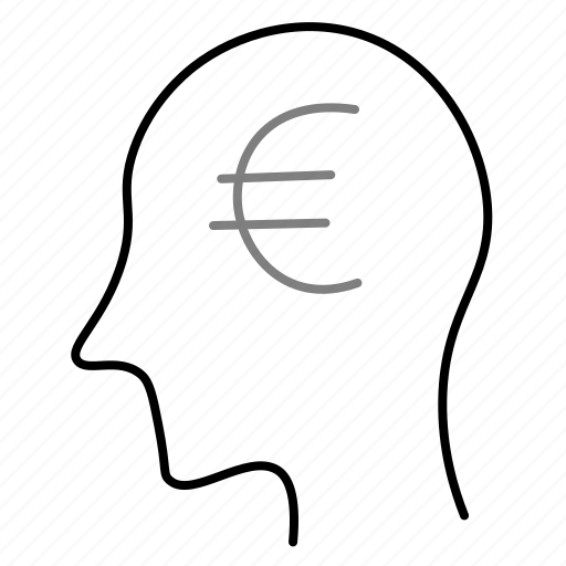cash, currency, euro, finance, money, startup icon