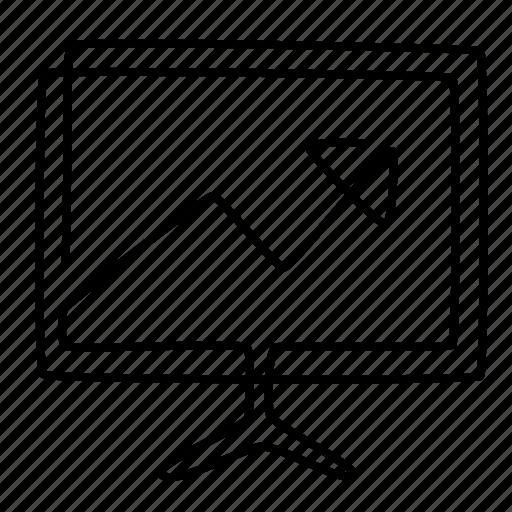 analysis, chart, diagram, display, good, startup, statistics icon