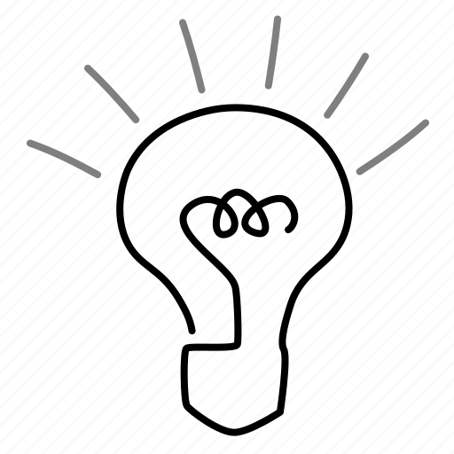 idea, innovation, lightbulb, startup icon