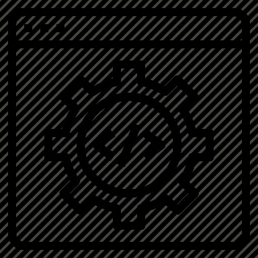 development, website icon