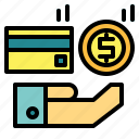 business, cash, currency, dollar, method, money, payment icon