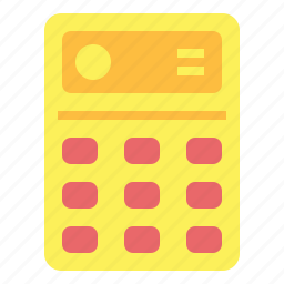 business, calculating, calculator, maths icon