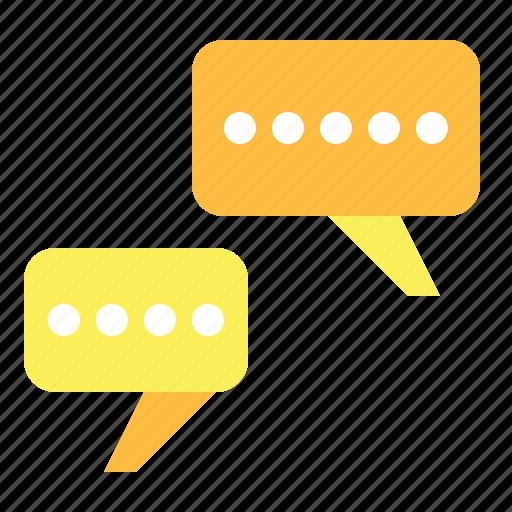 bubble, chat, comment, conversation, message, speech icon