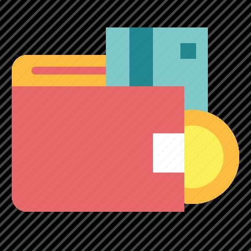 card, money, notes, wallet icon
