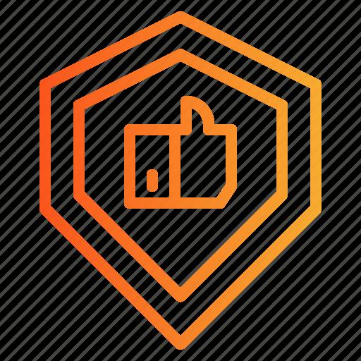 badge, guarantee, protection, security, shield, waranty icon