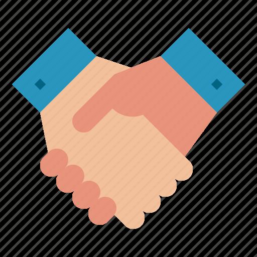 business, deal, handshake, partnership, teamwork icon