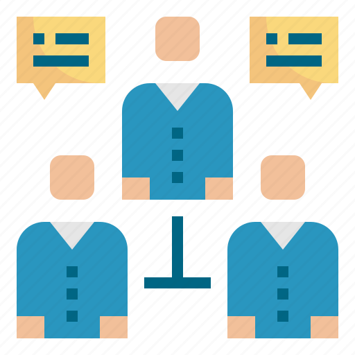 connection, interview, meeting, team, teamwork icon
