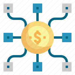 budget, coin, management, money icon