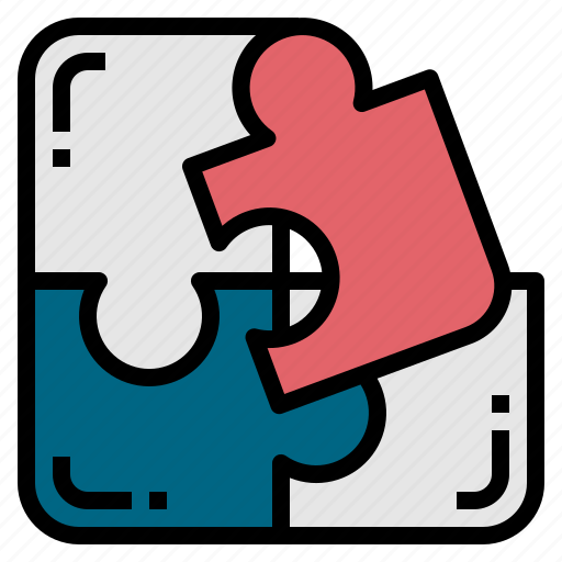 business, jigsaw0a, puzzle, solution icon