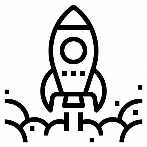 Business, rocket, spaceship, startup, strategy icon - Download on Iconfinder
