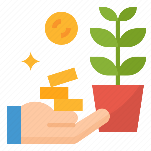 Growth, investment, money, profit icon - Download on Iconfinder
