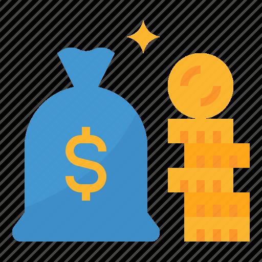 capital, dollar, investment, money icon