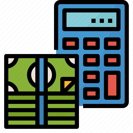 budget, calculate, investment, management, money icon