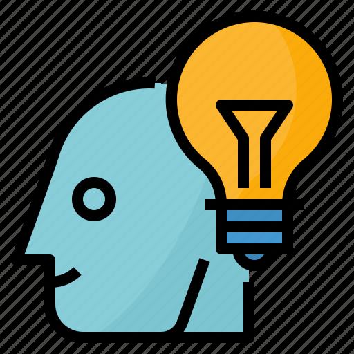 business, creative, idea, thinking icon