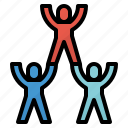 business, corporation, spirit, team, teamwork