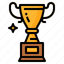 goal, success, trophy, win icon