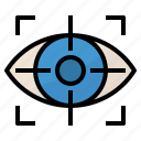 mission, objective, strategy, vision icon